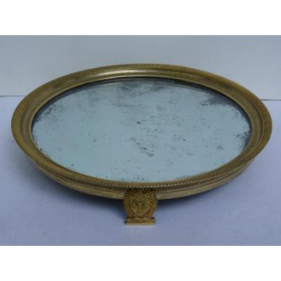 Centerpiece Tray, Empire Period, Gilt Bronze