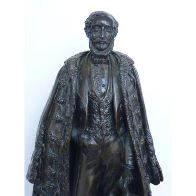 Duke Of Orleans, Bronze, Emile Thomas, Founder Eck & Durand, Louis-philippe Period