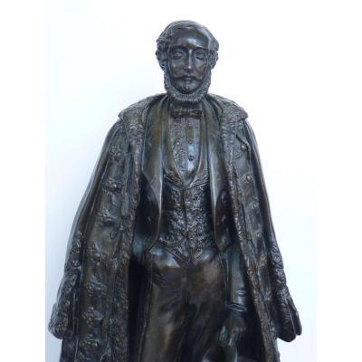 Duc d'Orléans, Bronze, Emile Thomas, Fondeur Eck & Durand, Epoque Louis-Philippe