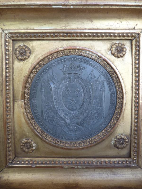 Armoiries Princières, Charles-Philippe de France futur Roi Charles X, Pierre Joseph Lorthior (1733-1813) Epoque Louis XVI -photo-3
