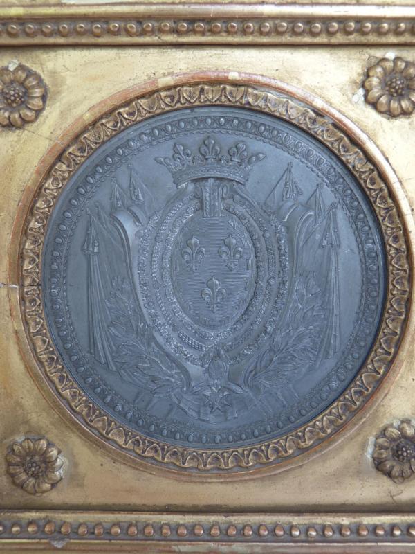 Armoiries Princières, Charles-Philippe de France futur Roi Charles X, Pierre Joseph Lorthior (1733-1813) Epoque Louis XVI -photo-4