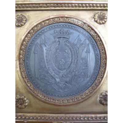 Armoiries Princières, Charles-Philippe de France futur Roi Charles X, Pierre Joseph Lorthior (1733-1813) Epoque Louis XVI