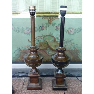 Pair Of Lamps From The Grand Hotel In Paris
