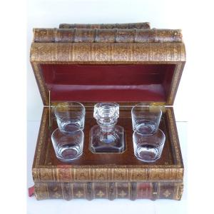 Liquor Cellar, Old Books And Baccarat Crystal