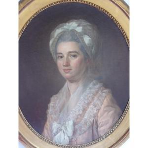 Portrait Of A Lady Of Quality, Louis XVI Period