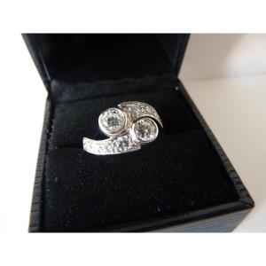 Toi & Moi Belle Epoque Ring, Diamonds And 18k Gold