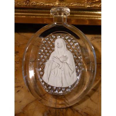 Cristallo-cérame, Manufacture de Cristal de Bercy, La Vierge, 19ème Siècle