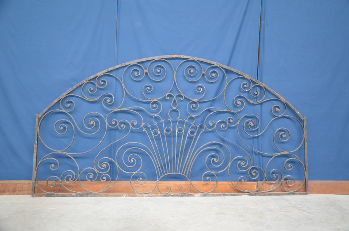 Porch Grille Wrought Iron