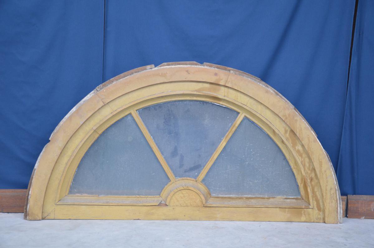 Transom Door In Oak