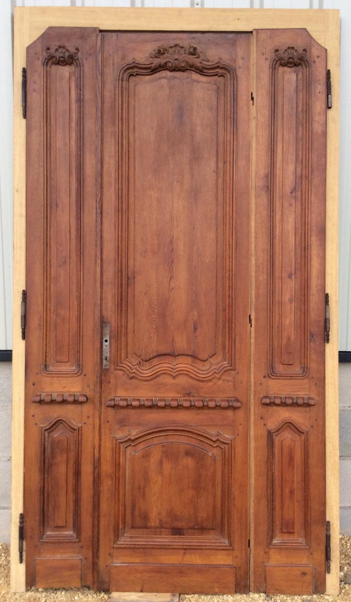 Door Double Face In Chene