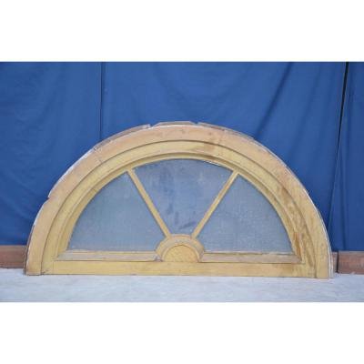 Transom Door In Oak