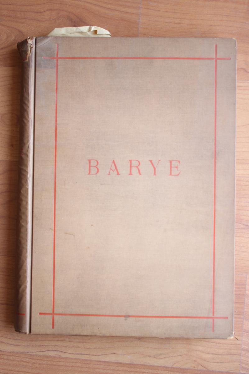Catalogue Raisonné De Barye Par Ballu Ed 1890