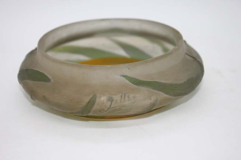 A Gallé Round Cup