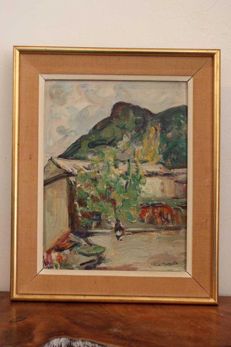 Tableau De Pierre Marseille ( 1896-1976 )
