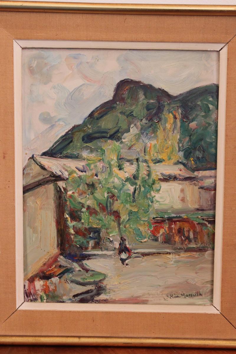 Tableau De Pierre Marseille ( 1896-1976 )-photo-2