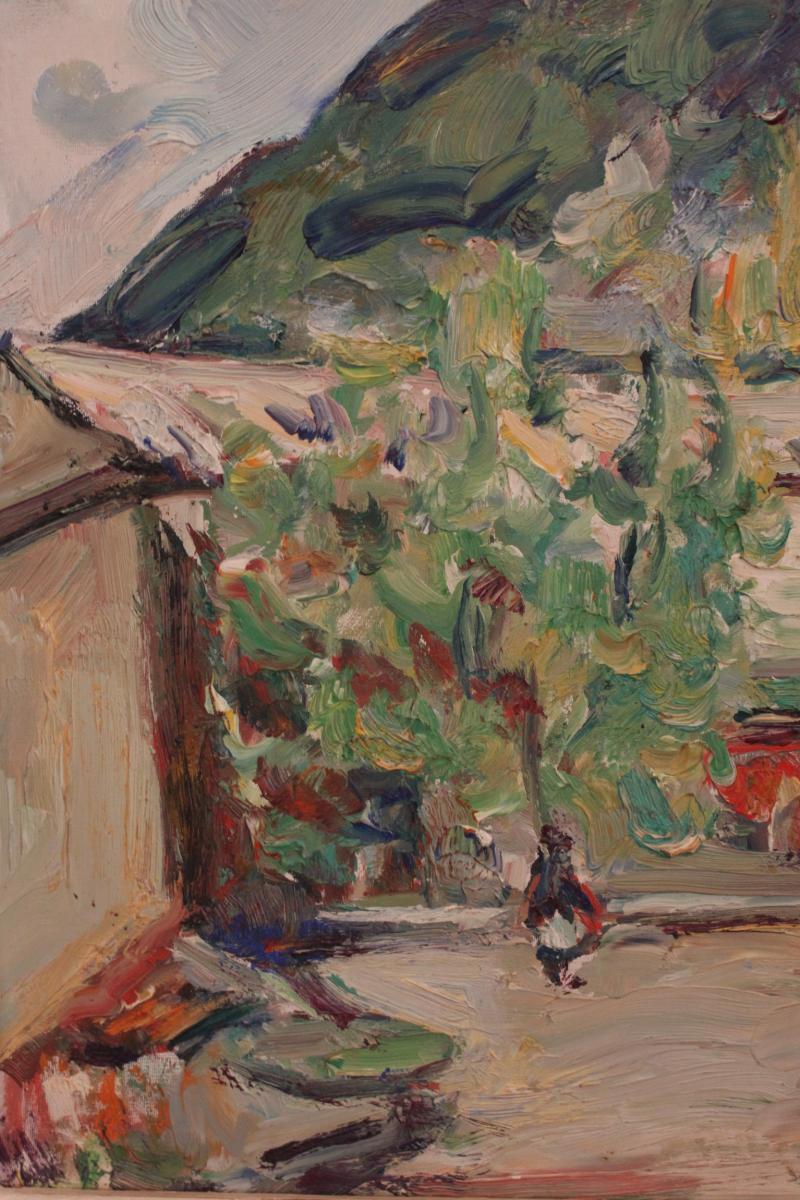 Tableau De Pierre Marseille ( 1896-1976 )-photo-3