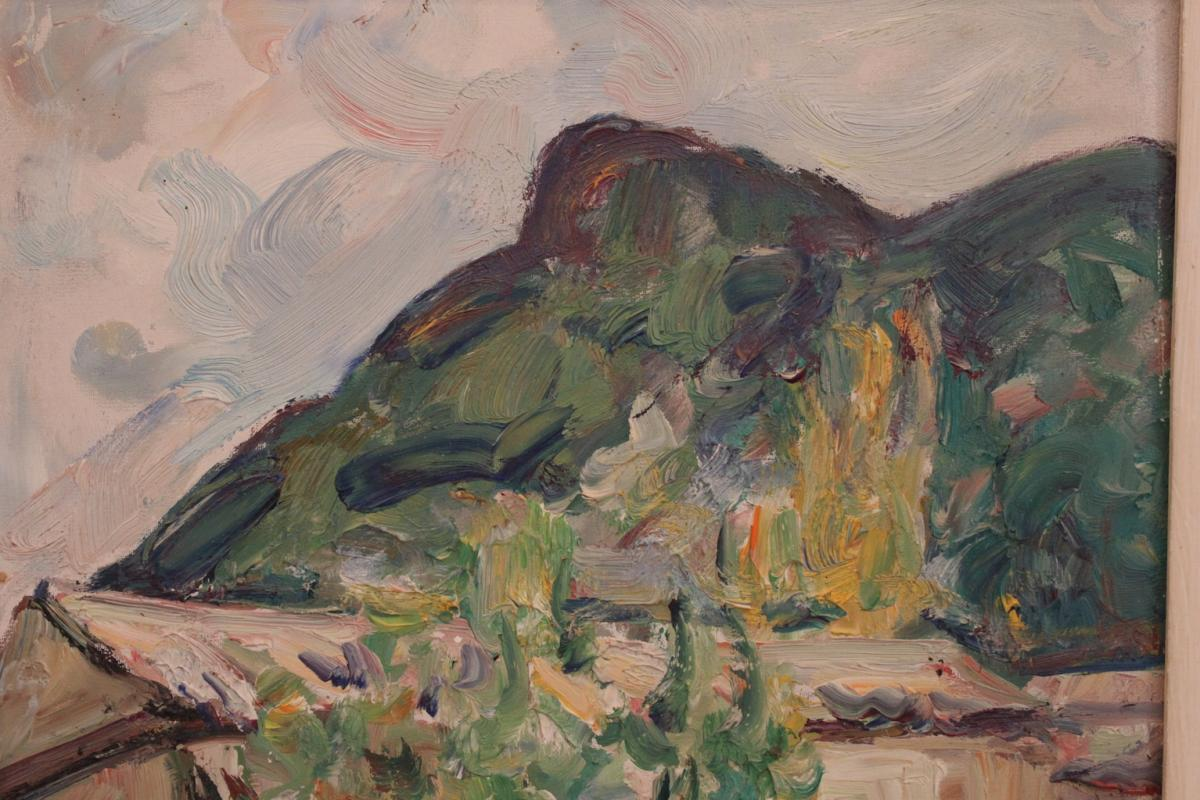 Tableau De Pierre Marseille ( 1896-1976 )-photo-4