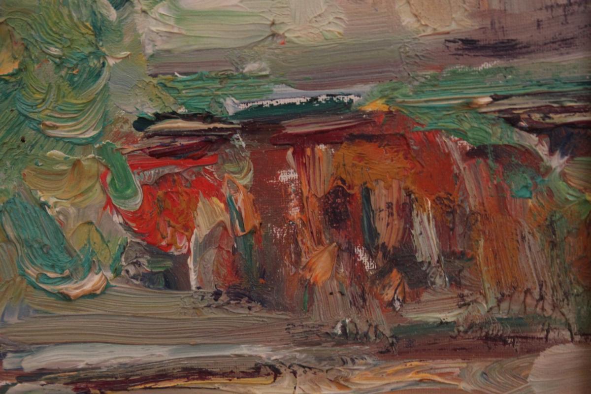 Tableau De Pierre Marseille ( 1896-1976 )-photo-1