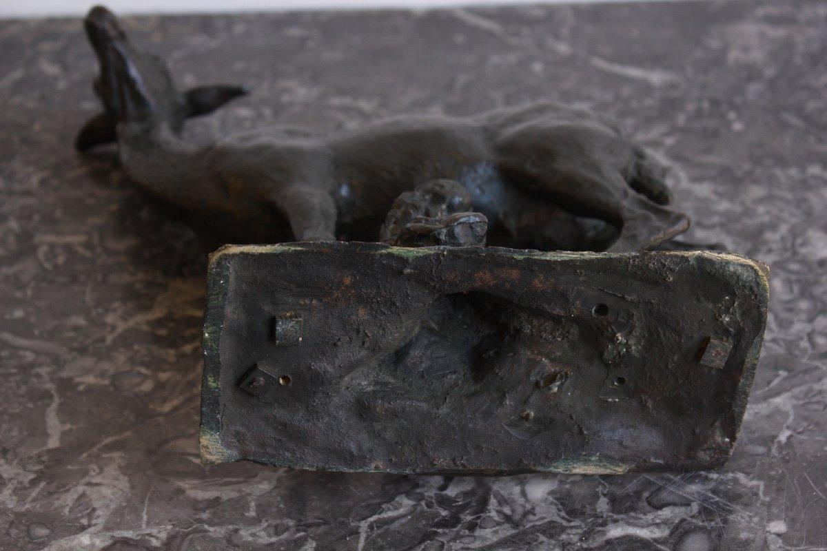 Bronze d'Epoque XIXème Non Signé-photo-7