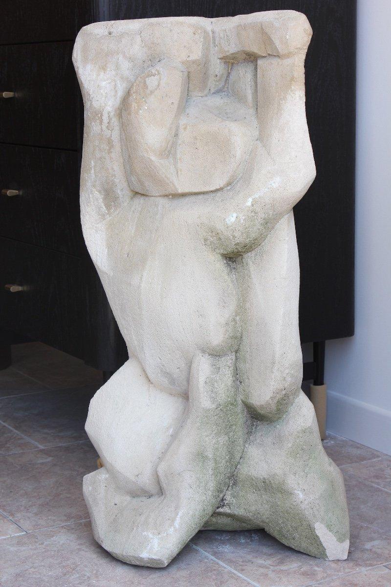 Sculpture en Pierre Epoque XXème