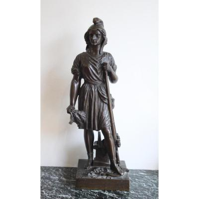 Liberté Selon Le Peuple De David d'Angers XIXème