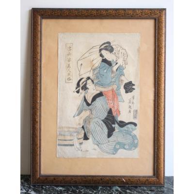 Estampe Japonaise XIXème Siècle