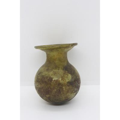 Vase Irisé d' Epoque Romaine