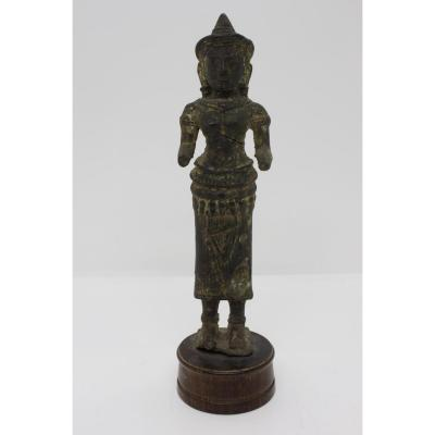 Cambodian Statue 13th Century Ad