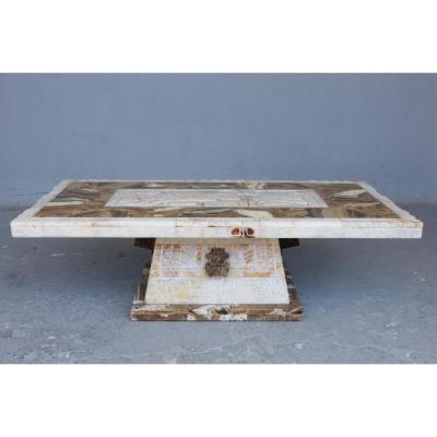 Table Néo-Inca Epoque 1930 ou 1940