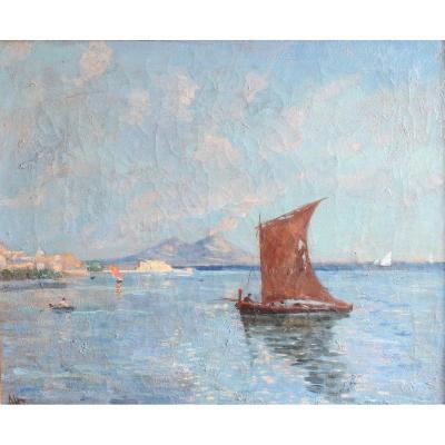 19th Century Alexandre Altmann Marine Painting