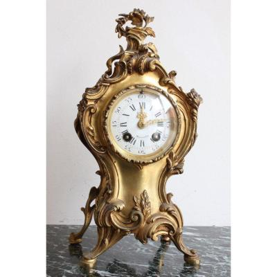Pendule Cartel Style Louis XV - Oudin Marseille