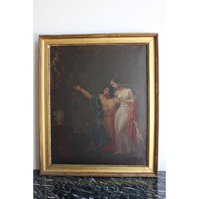 19th C. Neo-classical Painting