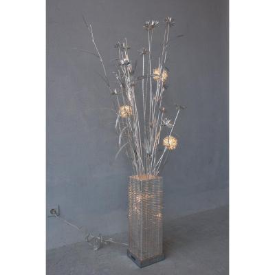 Lampe Aluminium Epoque Contemporaine Style 1970