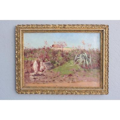19th Century Orientalist Painting By Pujol