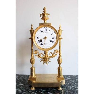 19th Century Clock Signed Gauthier