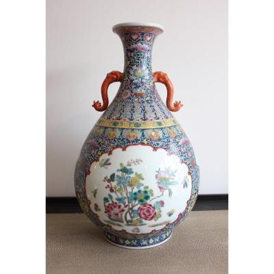 Vase Chinois Fin XIXème Début XXème