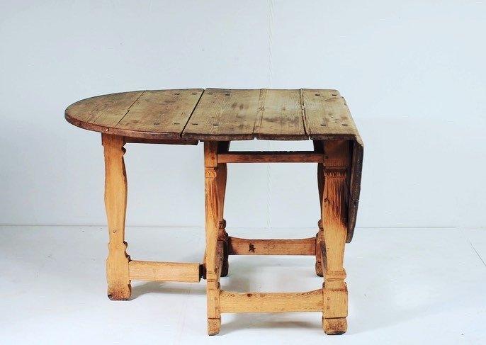 Table à Rabats 18ème Siècle-photo-1