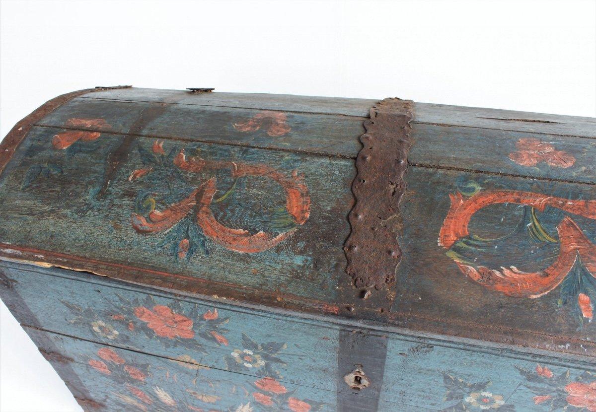 Swedish Trunk With Original Paint-photo-2