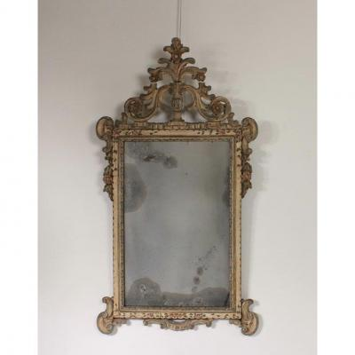 19th Century Italian Painted Mirror