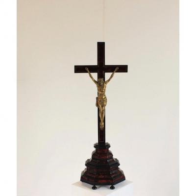 Bronze Christ From 19th Century