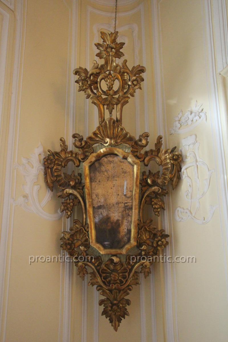 Glace Venise Fin XVIIIe Siècle