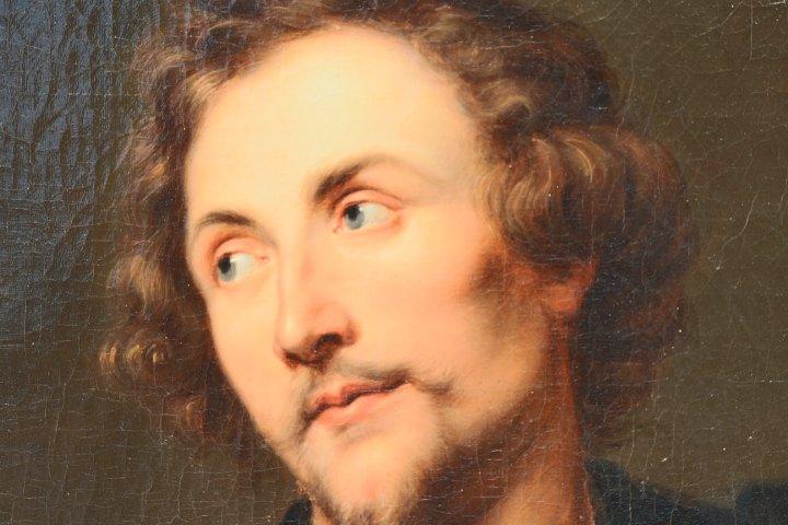 Portrait De Georg Petel, Huile Sur Toile, d'Après Anton Van Dyck, Début Du XVIIIe Siècle-photo-6