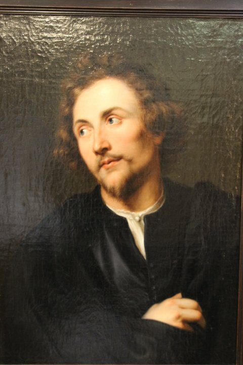 Portrait Of Georg Petel, Oil On Canvas, After Anton Van Dyck, Early Eighteenth Century