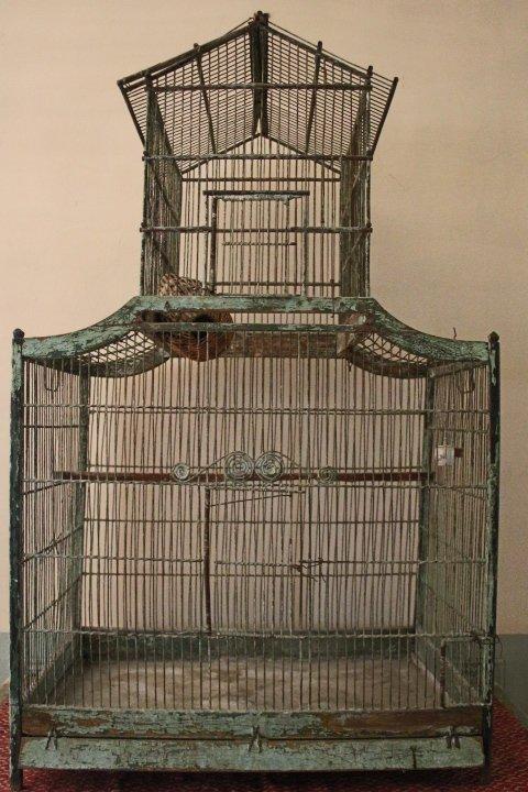 Rare Cage Birds, Form Pagoda, Louis XV, Second Half Of The Eighteenth Century