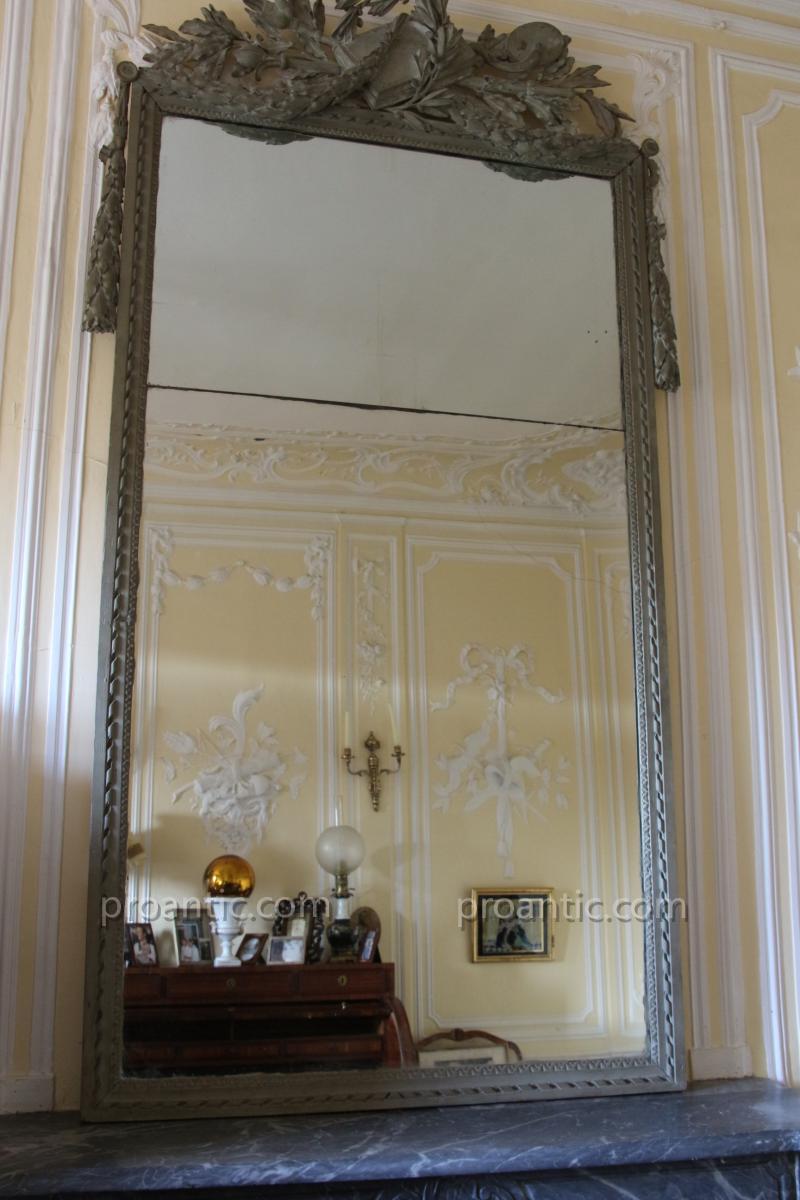 Miroir deux vues poque louis xvi miroirs for Miroir louis 16