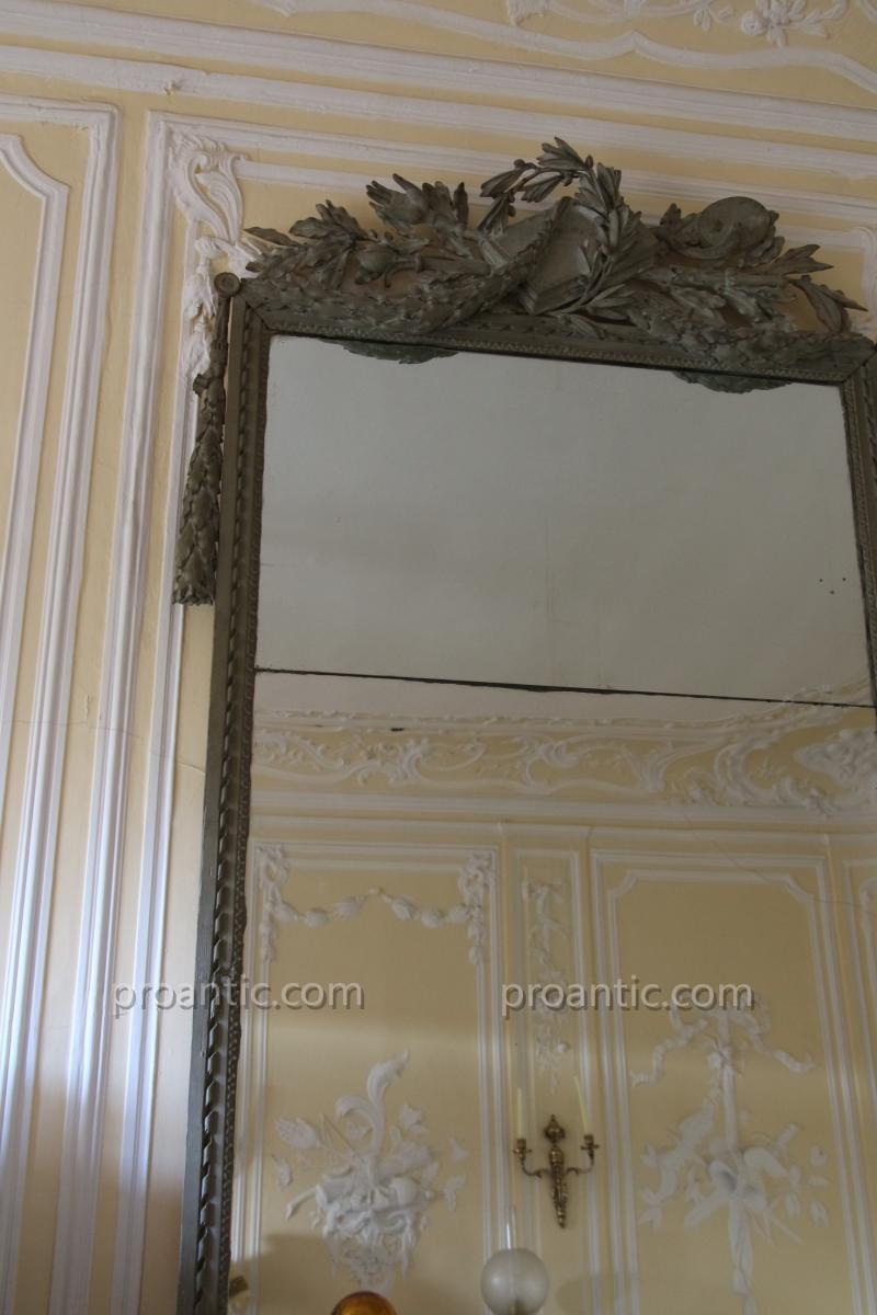 Miroir à deux vues, époque Louis XVI-photo-2