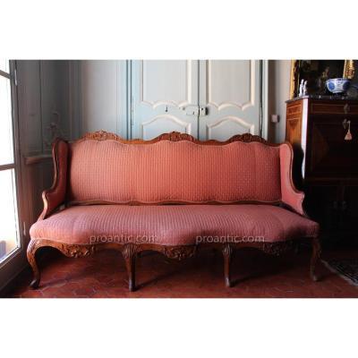 Canapé d'époque Régence