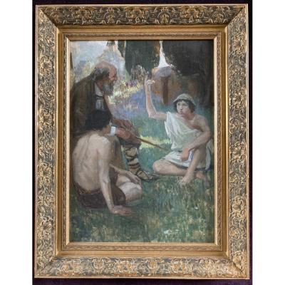 Francois-Maurice Roganeau (attribué à), C.1912
