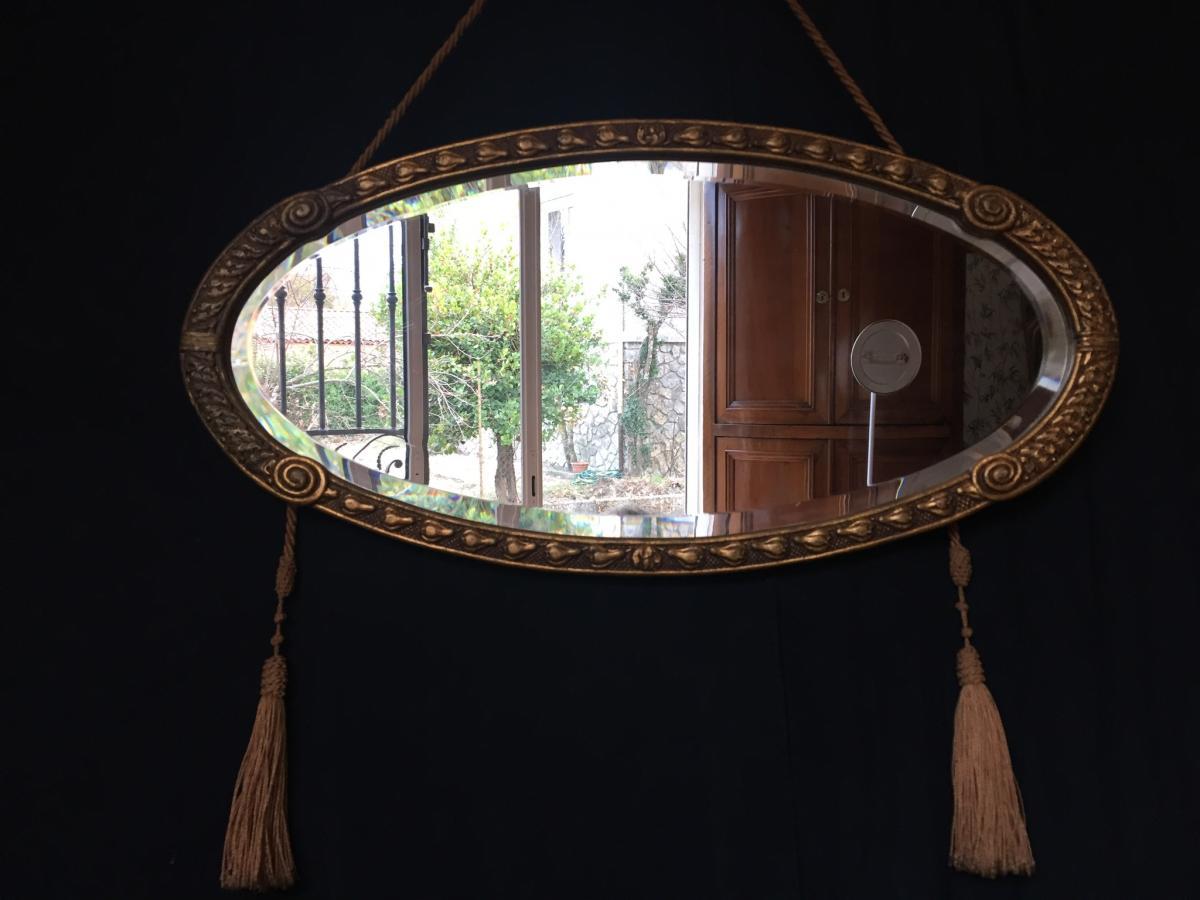 miroir de style art deco miroirs. Black Bedroom Furniture Sets. Home Design Ideas