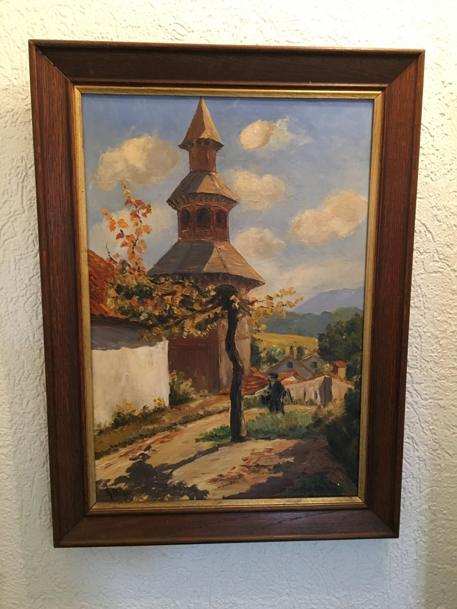 The Bell Tower Of Ciboure In The Basque Country-photo-2